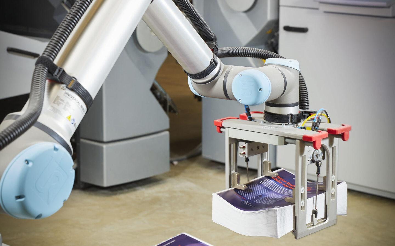 Drukkerij robotisering
